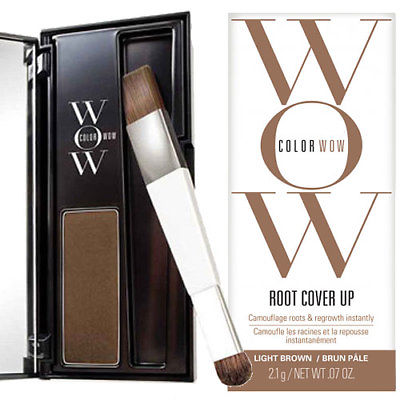 Color WoW Light Brown Root Cover Up